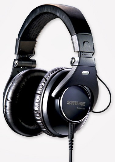 Shure SRH840 Referenz Recording und Live-Kopfhörer