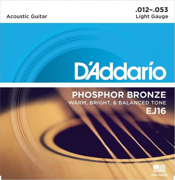 Daddario Acoustic Gtarren Saten EJ16