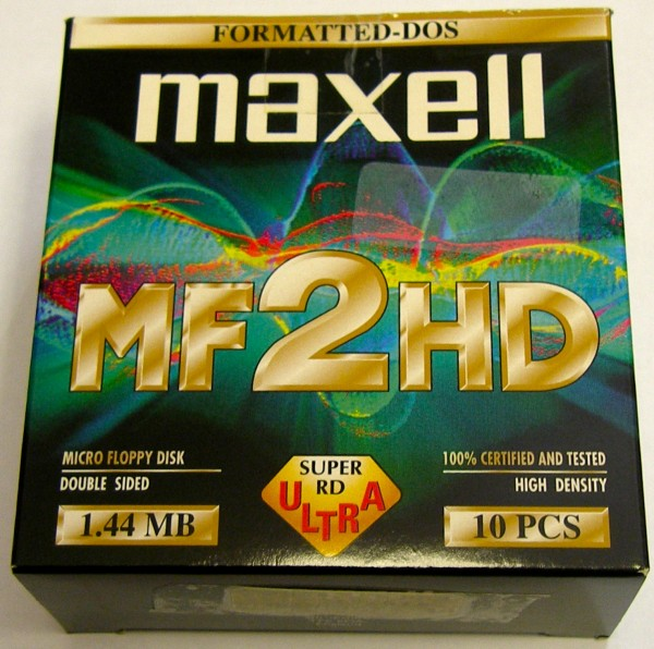 MF2HD Disketten