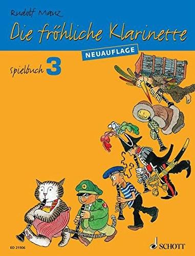 Die fröhliche Klarinette Spielbuch Band 3