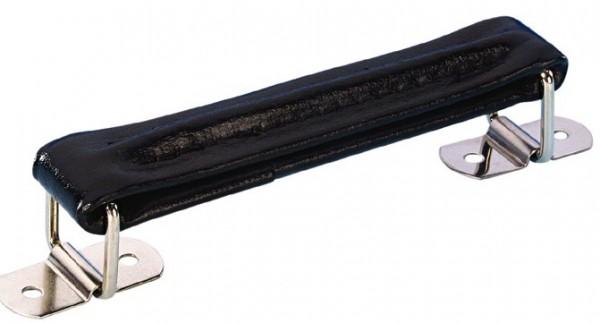 Koffergriff Leder schwarz