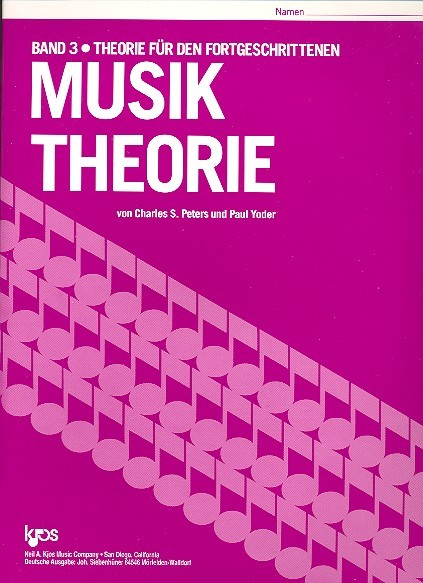 Musik Theorie Band 3 Charles Peters, Paul Yoder