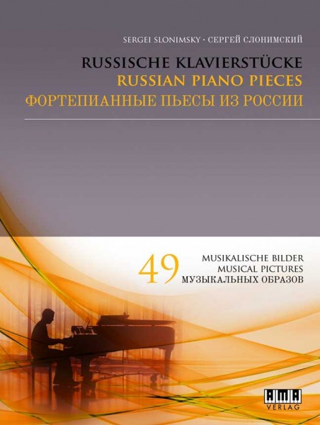 Russische Klavierstücke von Sergei Slonimsky