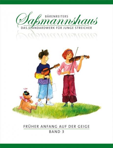 Früher Anfang auf der Geige. Saßmannshaus Band 3