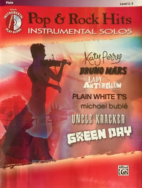 Pop & Rock Hits Instrumental Solos Flute Level 2-3