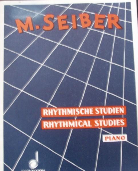 Rhythmische Studien Piano M. Seiber