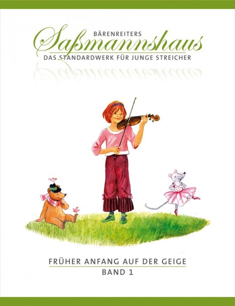 Früher Anfang auf der Geige. Saßmannshaus Band 1