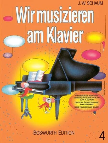 Wir musizieren am Klavier Band 4 von John W. Schaum