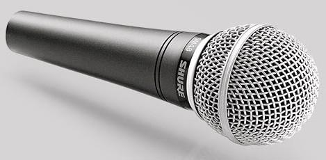 Shure SM 48 Dynamisches Gesangsmikrofon