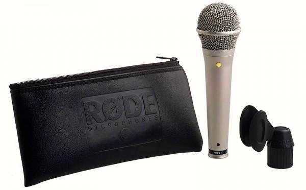 Rode S1 Kondensator Gesangsmikrofon, black