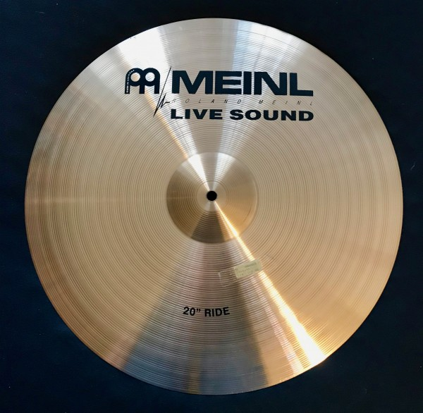"""Meinl Cymbal Live Sound 20"""" Ride"""