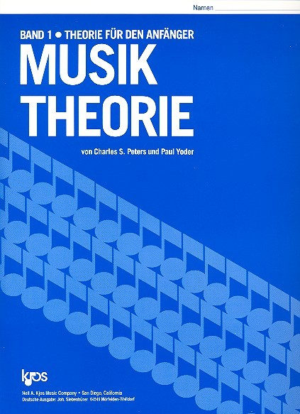 Musik Theorie Band 1 Charles Peters, Paul Yoder