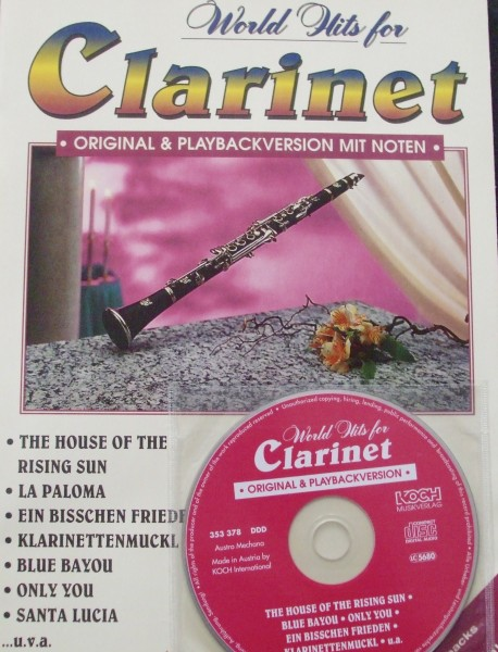 World Hits for Clarinet mit CD