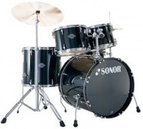 Sonor Drumset Smart Force Xtend SFX 11 Stage 1 WM Black