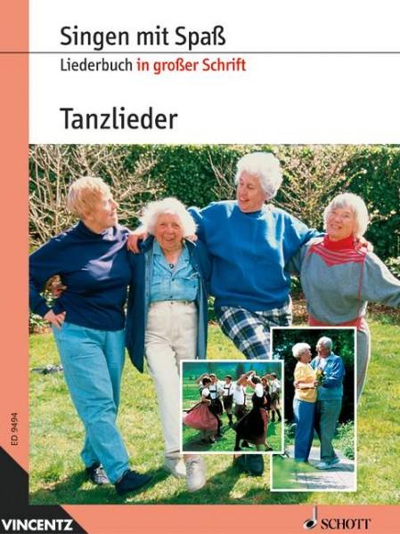 Tanzlieder Paul Hindemith Liederbuch in großer Schrift