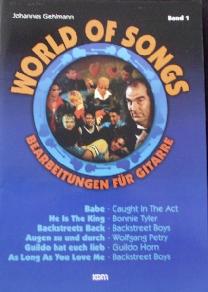 World of Songs Band 1 für Gitarre