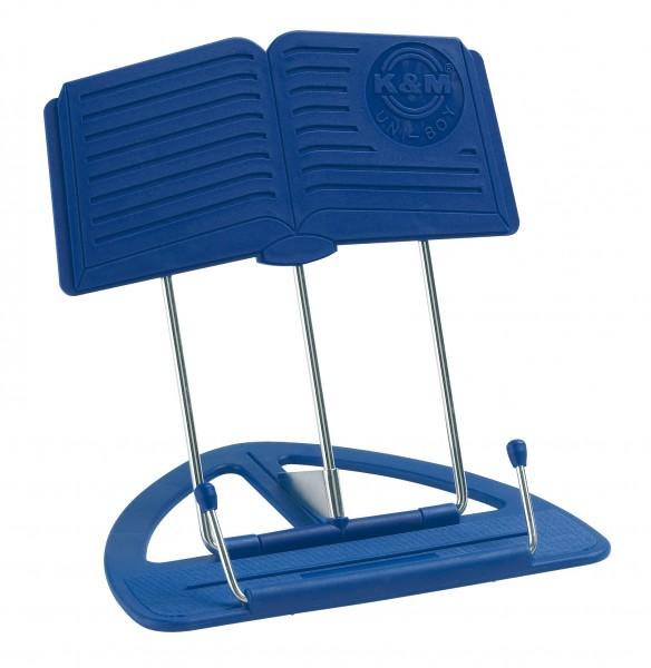 König & Meyer Tischnotenpult Uniboy blau