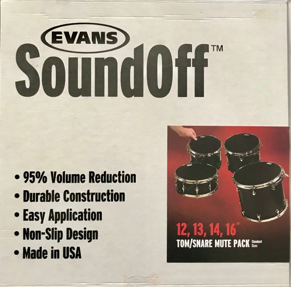 Evans SoundOff Tom/Snare Mute-Pack