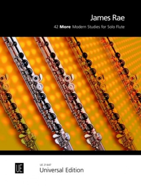 42 More Modern Studies for Solo Flute James Rae