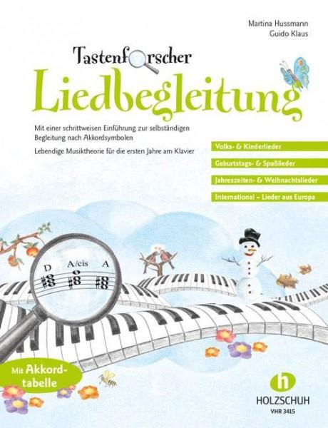Tastenforscher Liedbegleitung Guido Klaus, Martina Hussmann