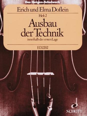 Das Geigenschulwerk von E.Doflein Heft 2