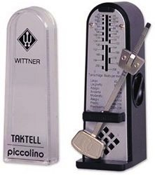 Taktell Piccolino Metronom Kunststoffgehäuse ohne Glocke schwarz
