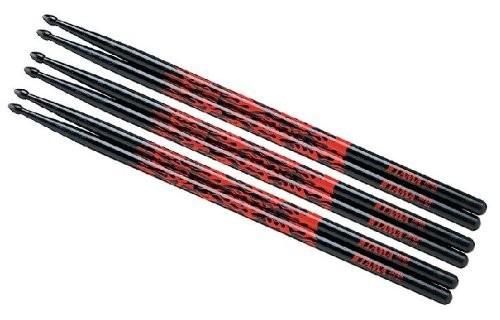 Tama Drumsticks 5A-F-BR 3er Pack RED RHYTHIMIC FIRE
