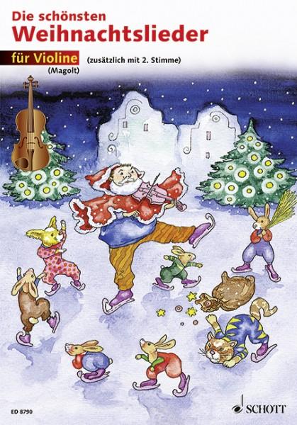 Die schönsten Weihnachtslieder für Violine