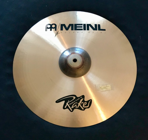 "Meinl Cymbal Raker Serie 16"" Medium Crash"