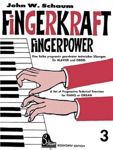 Fingerkraft Band 3 von John W. Schaum