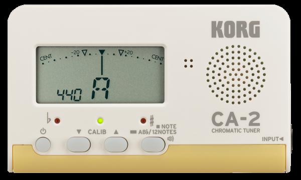 KORG Stimmgerät CA-2 Chromatisch weiß