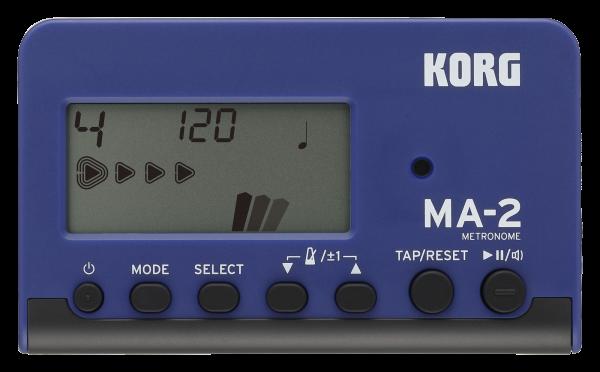 KORG Metronom, MA-2, digital, blau/schwarz