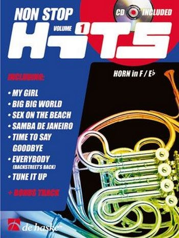 Non stop hits vol.1 (+CD) für Horn in F/Es