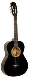 Kirkland Konzertgitarre Mod.34 Black 3/4