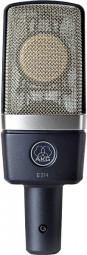 AKG C 214 Professionelles Groflmembran-Kondensatormikrofon