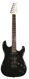 Career Stage-2 E-Gitarre black HSS