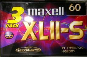 Maxell Audio Cassetten XL II S 60
