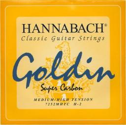 Hannabach Saiten für Classic Gitarre Goldin 3 er Set E1 H G