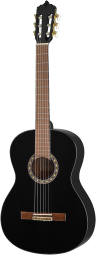 ARTESANO Konzertgitarre, Estudiante XC-4/4, Mensur 65 cm ,4/4-Größe Black