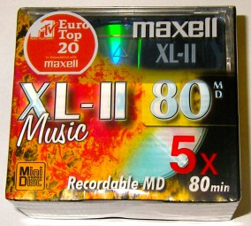 Recordable Mini Disc XL-II-80
