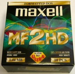 MF2HD Disketten