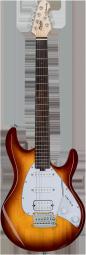 STERLING E-Gitarre, S.U.B., Silo3, Tobacco Sunburst, Jatobagriffbret