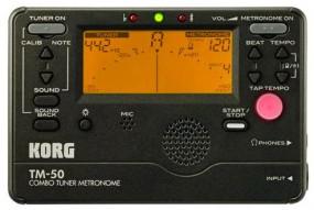 Korg TM-50 BK Stimmgerät mit Metronom