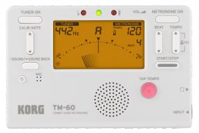 Korg TM 60 PW Stimmgerät mit Metronom