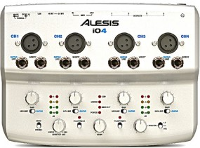 Alesis iO4 24-Bit USB Recording Interface
