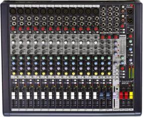Soundcraft MFXi 12 Kompakt Mischpult